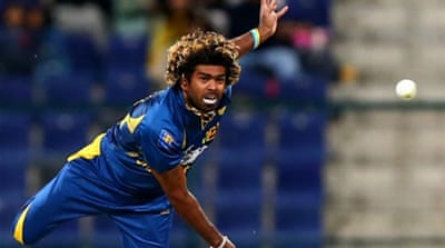 Malinga had taken just two wickets in four matches before Sri Lanka's final one-day international against Pakistan [AFP]