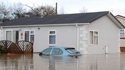 The Environment Agency had more than 200 flood alerts and warnings in place across England and Wales