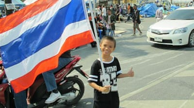 Thai protests transform into festivals