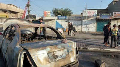 Attacks in mostly Sunni Arab areas of Baghdad as well as northern and western Iraq killed at least 18 people on Tuesday, the latest in a months-long surge in bloodletting. [AFP]