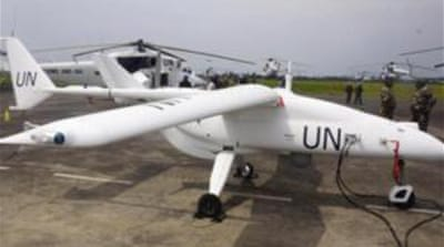 UN forces introduce drones in Congo