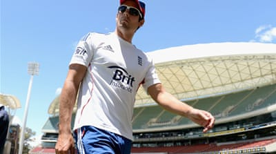 England fell to a 381-run loss in the series opener in Brisbane last week [AFP]