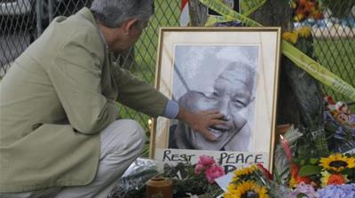 Nobel Peace Prize winner Nelson Mandela died at the age of 95, on December 5, 2013 [EPA]