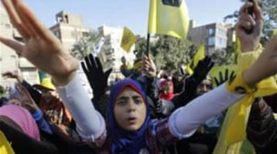 Islamist protesters organise almost daily protests to demand Morsi's reinstatement [EPA]