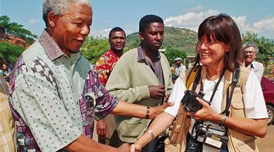 Photojournalist Louise Gubb spent many years documenting Nelson Mandela's political career
