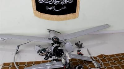 Al-Qaeda says it shot down Syria drone