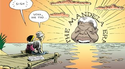 Jonathan Shapiro is South Africa's best-known political cartoonist [Matthew Cassel/Al Jazeera]