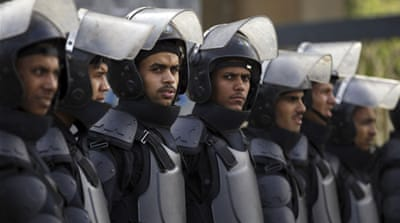 Rights groups say the Egyptian government has been cracking down on its opponents  [Reuters]