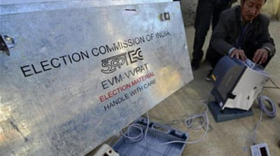India's electoral commission will stage a five-week election from April 7 [AFP]