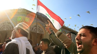 Iraq Sunnis rally against Shia-led government