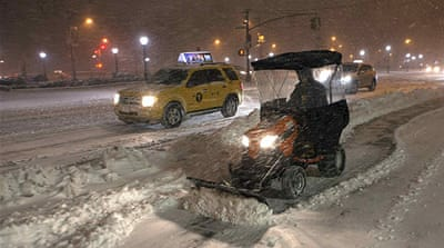 Major snowstorm cripples US northeast