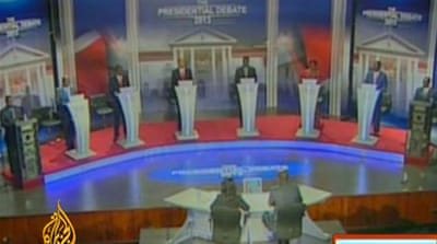 Kenya holds first-ever presidential debate