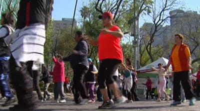 Mexico tries to sweat out obesity epidemic