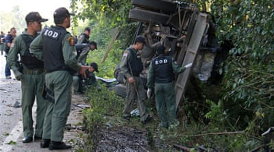 Thai army repels mass attack in restive south