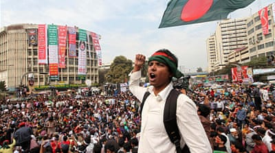 Bangladesh war crimes protests continue