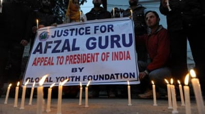 Protests have erupted in Indian-administered Kashmir over Afzal Guru's hanging [Reuters]