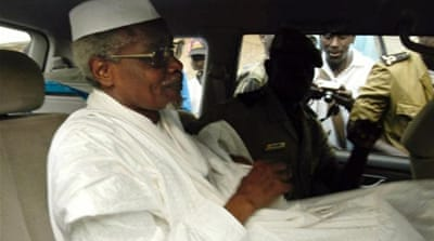 Chad's former President Hissane Habre has been living in exile in Senegal for 22 years [AFP]