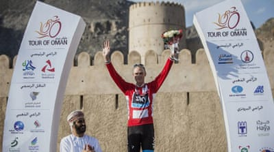 Froome took a 24-second overall lead after finishing second behind Rodriguez on the route from Al Saltiyah in Samail to Jabal Al Akhdar [GALLO/GETTY]