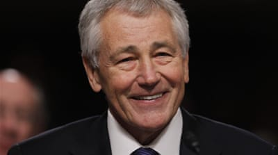 Chuck Hagel confirmed as US defence secretary