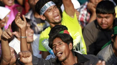 Dhaka sit-in evokes Tahrir Square spirit