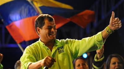 Ecuador prepares for presidential vote
