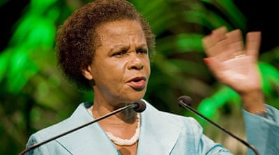 Mamphela Ramphele has been a vocal critic of South Africa's dominant ANC party [AFP]