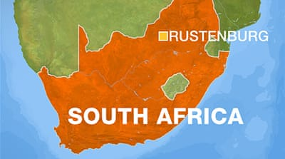 Several wounded in South Africa mine shooting