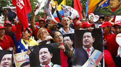 Venezuela's Chavez returns home from Cuba
