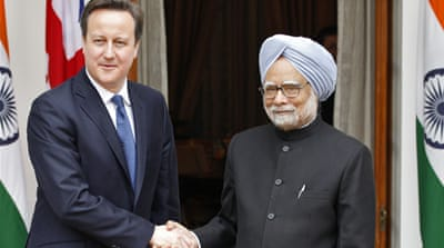Cameron meets India PM amid defence-deal row