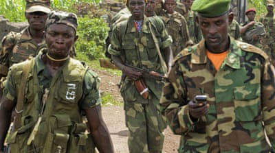 The rebels have come under pressure amid reports the UN could deploy more forces in the eastern DRC [EPA]