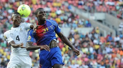 Ghana face the winner of Sunday's fixture between Burkina Faso and Togo in Nelspruit [AFP]