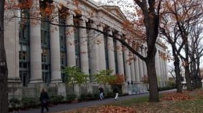 Reports in The Harvard Crimson linked football, baseball and hockey players to the exam cheating scandal [Reuters]