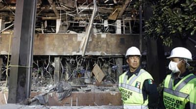 Mexico probes Pemex headquarters blast