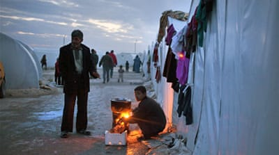 Syria's internally displaced grow desperate