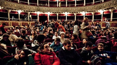Teatro Valle, the 18th century theatre occupied since June 2011, has paved way to the citizens' movements and inspired similar occupations and grassroots campaigns all over Italy [Photo courtesy: Teatro Valle Occupato]