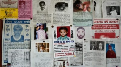 India faces epidemic of missing children