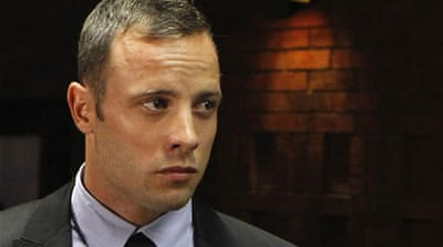 'Non-stop shouting' heard from Pistorius home