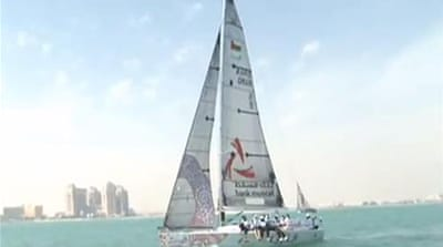 Omani women sailors making waves