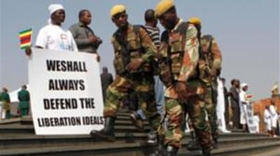 Zimbabwe war veterans demand compensation