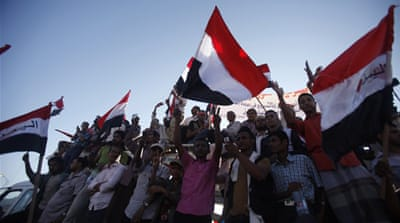 Supporters of the separatist Southern Movement gathered in Aden to rally for southern independence [Reuters]