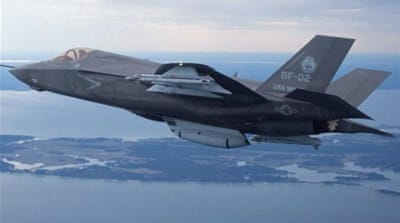 US grounds F-35 fighter fleet