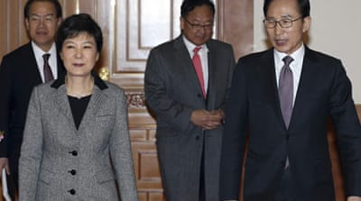 S Korea's Park Geun-hye faces tough challenge