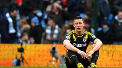 Cahill cited Chelsea's poor defensive showing at City as evidence of fatigue in the squad [AFP]