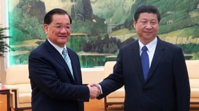 China considers Taiwan a renegade province and it has not renounced the use of force to retake it [Reuters]