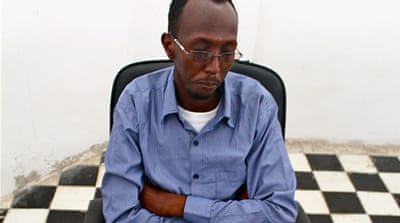 Abdinuur, 25, was detained on January 10 while researching sexual violence in Somalia