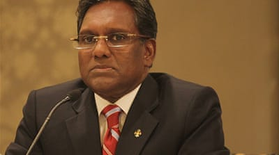 "President Mohamed Waheed is ""shocked"" by a court ruling that a teenage rape victim should receive 100 lashes [EPA]"