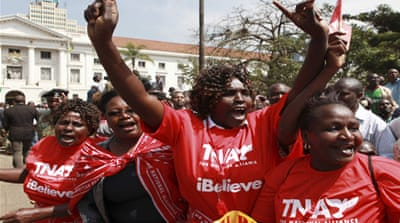 Fears of violence as Kenya prepares for polls