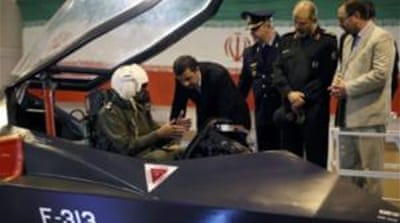 Iran unveils new fighter jet