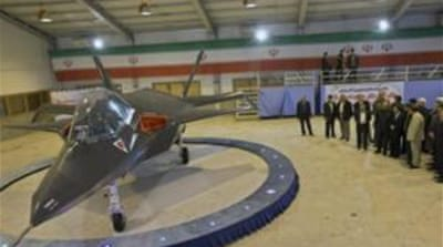 Iran unveils 'domestically-built fighter jet'