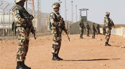 Algerian soldiers have been deployed along the border for a while, but recently reinforcements were sent [Reuters]